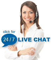 Live Chat is available 24/7
