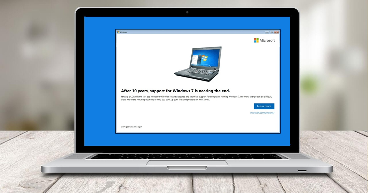 Windows 7 Extended Support
