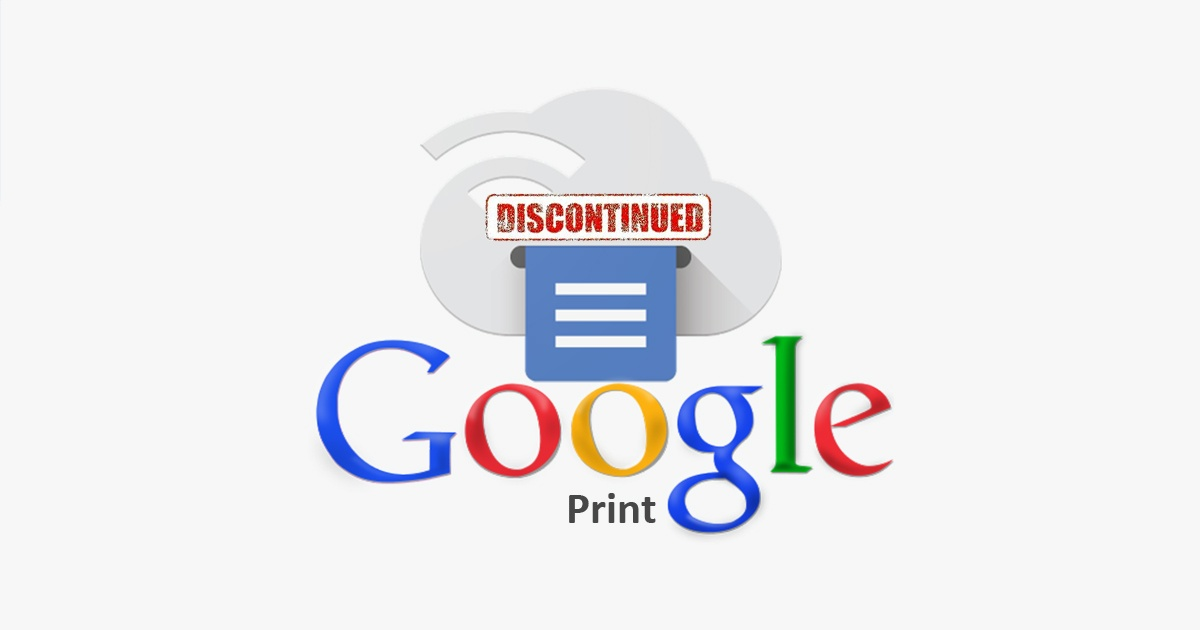 Google Cloud Print Discontinued – What's the Alternative?