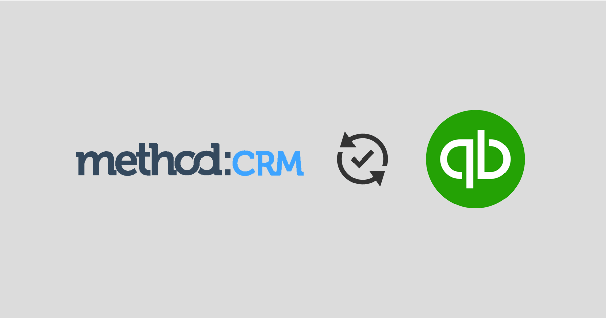 Method:CRM for QuickBooks Desktop
