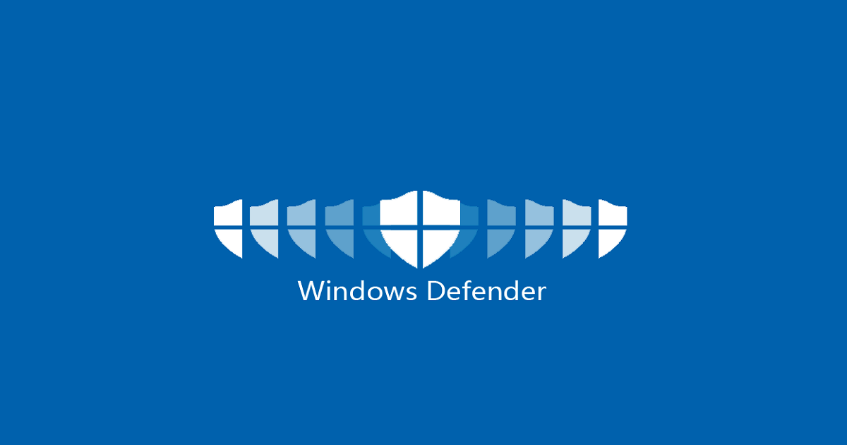 Windows Defender in Windows Server 2019