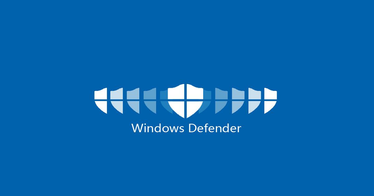 Windows Defender 2019