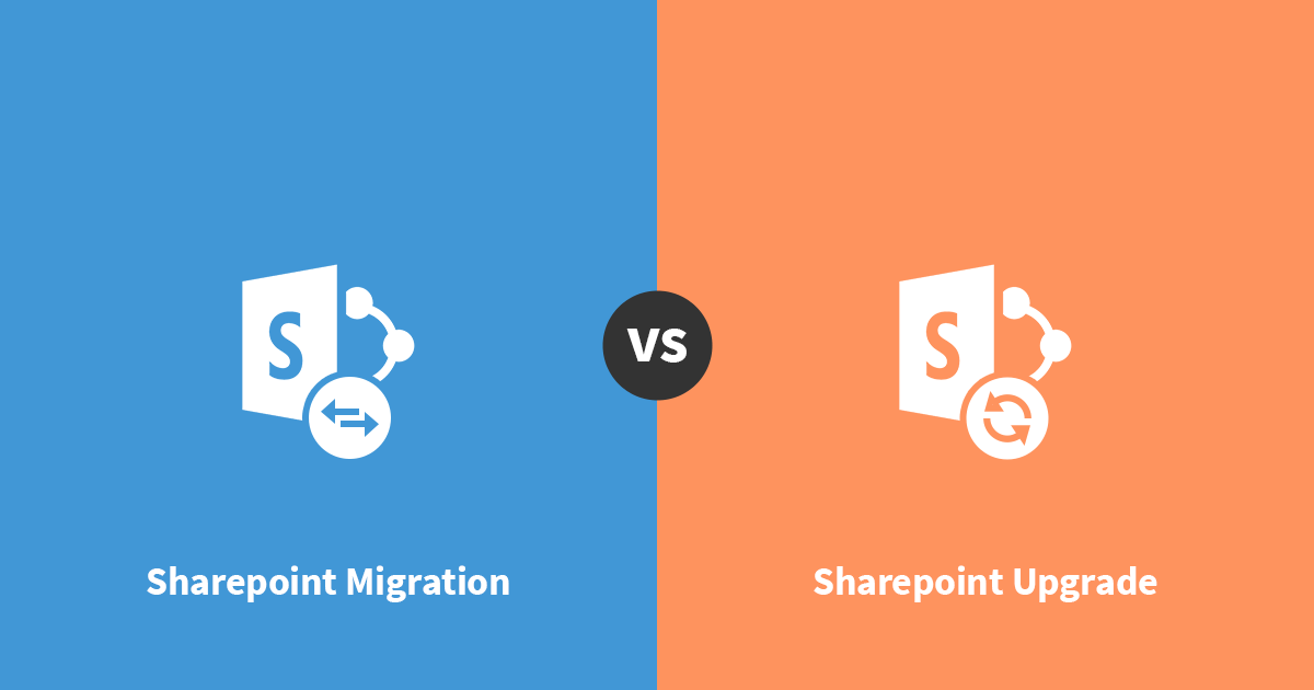 Choosing Between SharePoint Migration and Upgrade