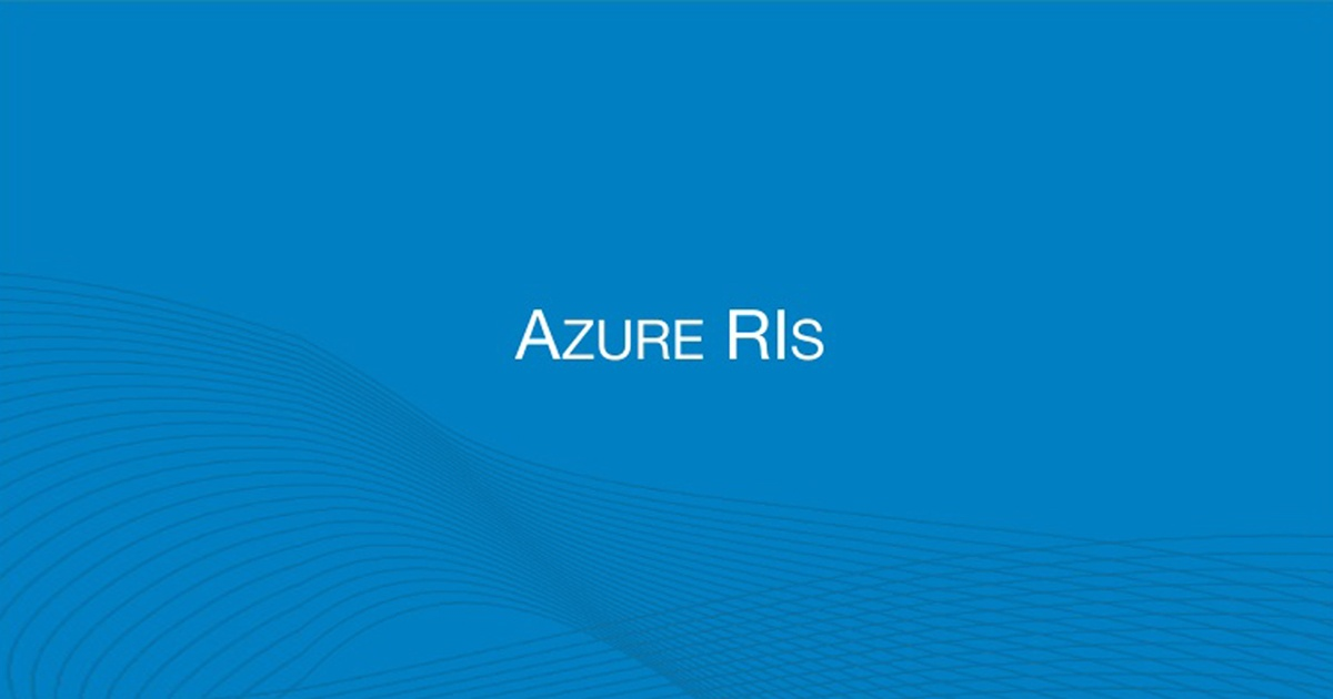Benefits of Azure Reserved Instances