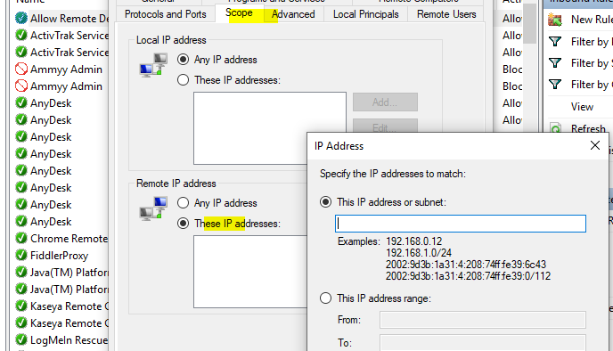 Is it possible to restrict direct RDP access, and use only RDM